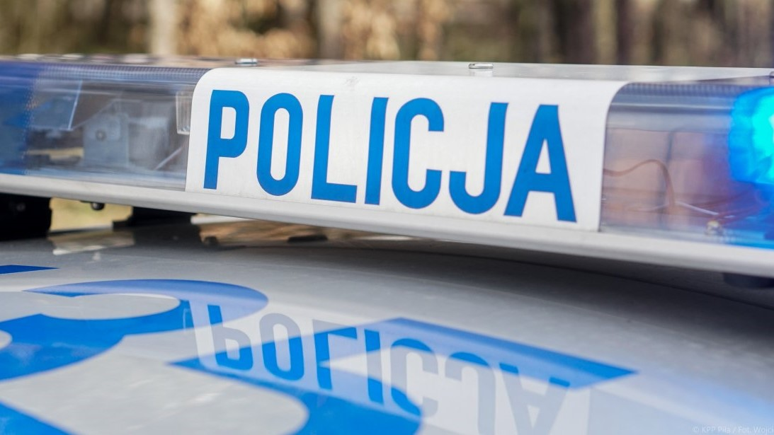policja radiowóz  - KPP Piła