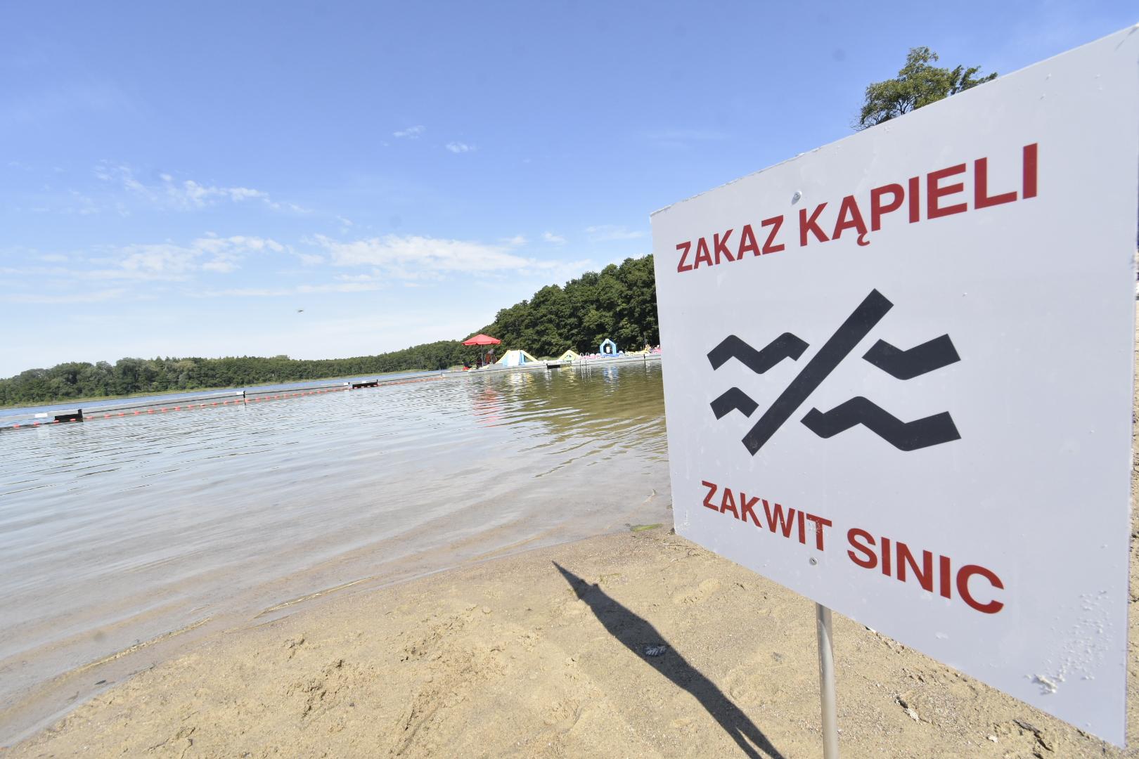 jezioro strzeszyńskie zakaz kąpieli sinice - Wojtek Wardejn - Radio Poznań