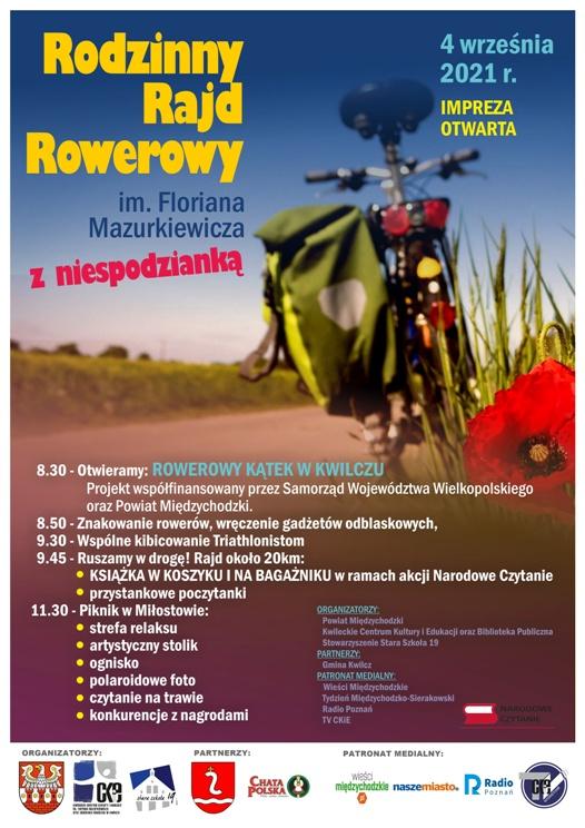 Rodzinny Rajd Rowerowy 2021 - Organizator