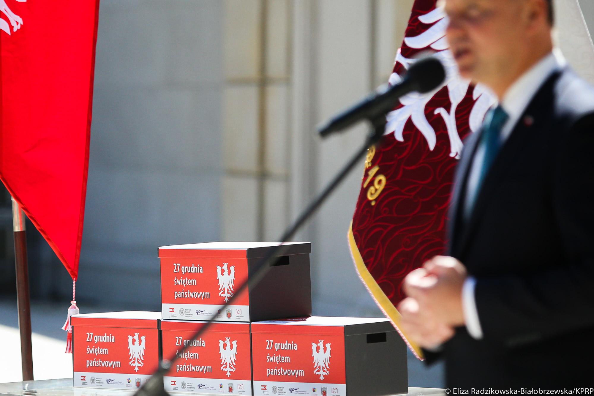 27 grudnia świętem państwowym prezydent - Eliza Radzikowska-Białobrzewska - KPRP