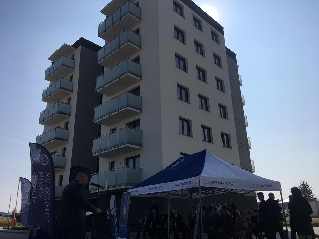 16. batalion remontu lotnisk w Jarocinie  blok dla żołnierzy - Rafał Regulski