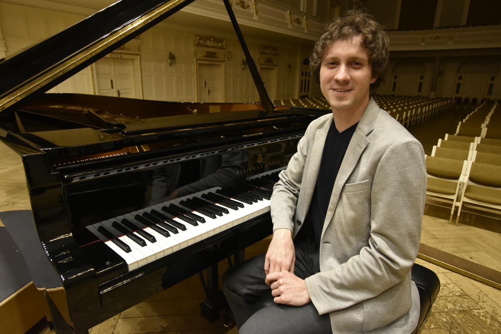 rafał blechacz fortepian aula - Wojtek Wardejn - Radio Poznań
