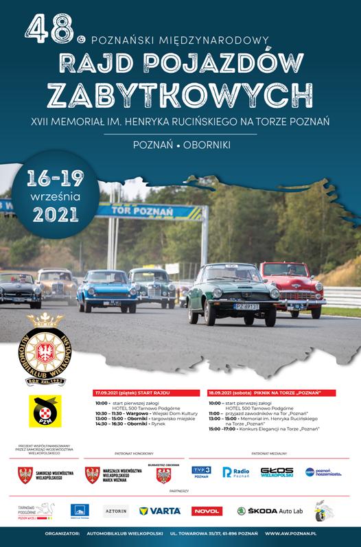 Rajd Pojazdów Zabytkowych 2021 - Organizator