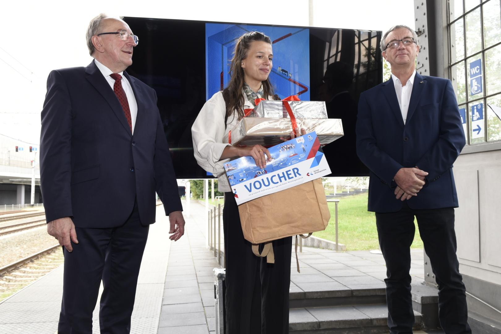 pociąg do sztuki zwycięzca  - Wojtek Wardejn - Radio Poznań
