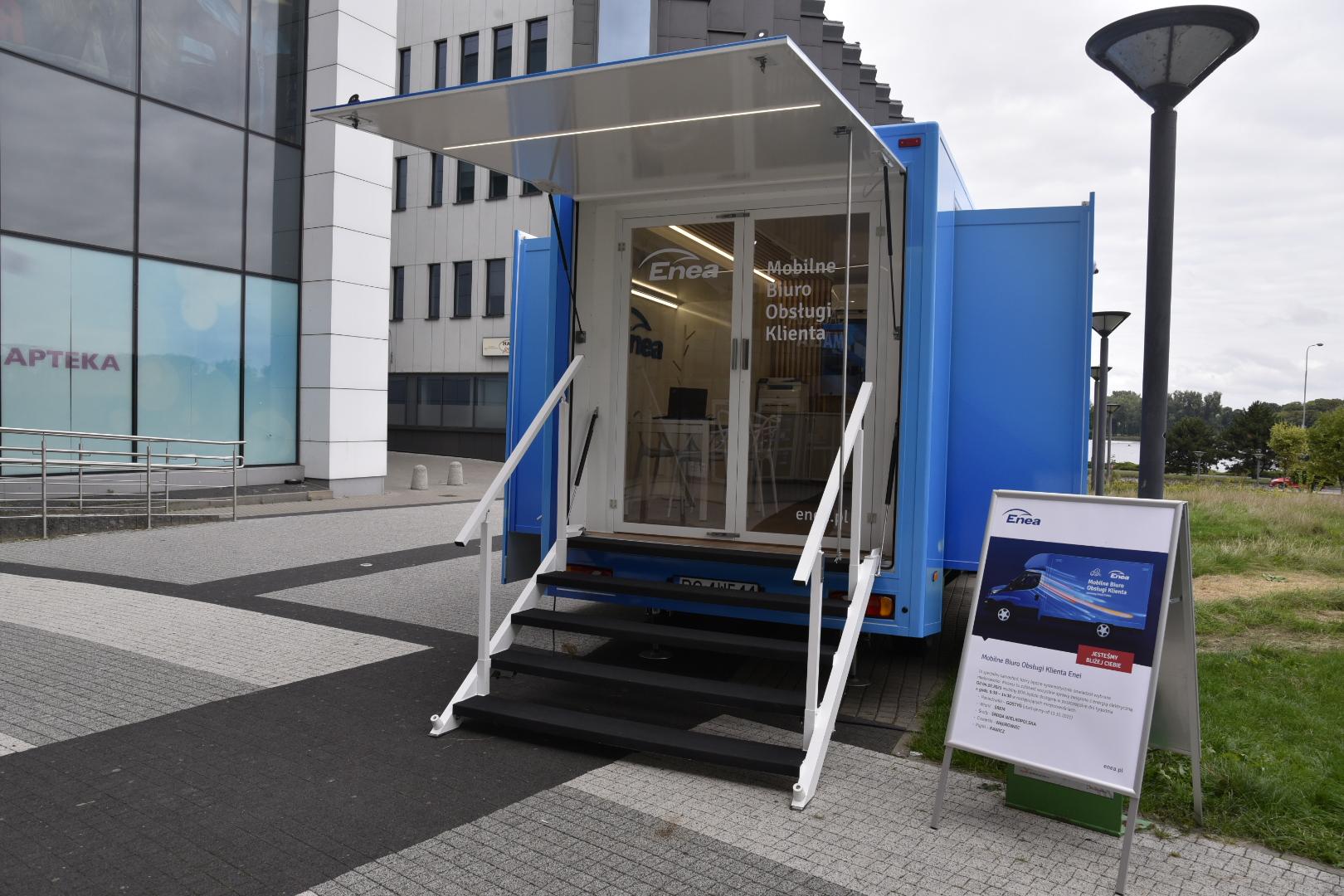 mobilne biuro enea - Wojtek Wardejn - Radio Poznań