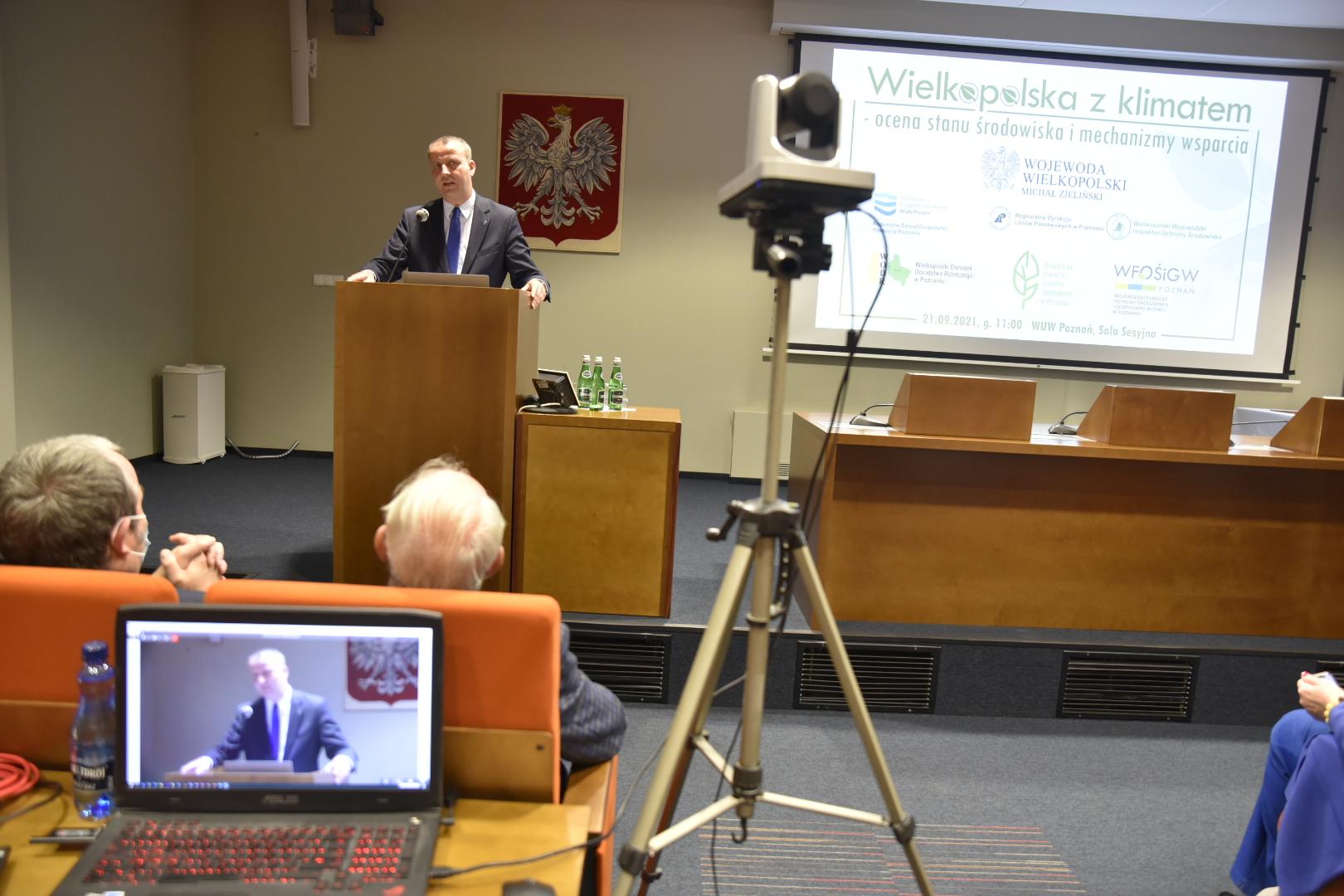 konferencja środowisko wojewoda - Wojtek Wardejn - Radio Poznań