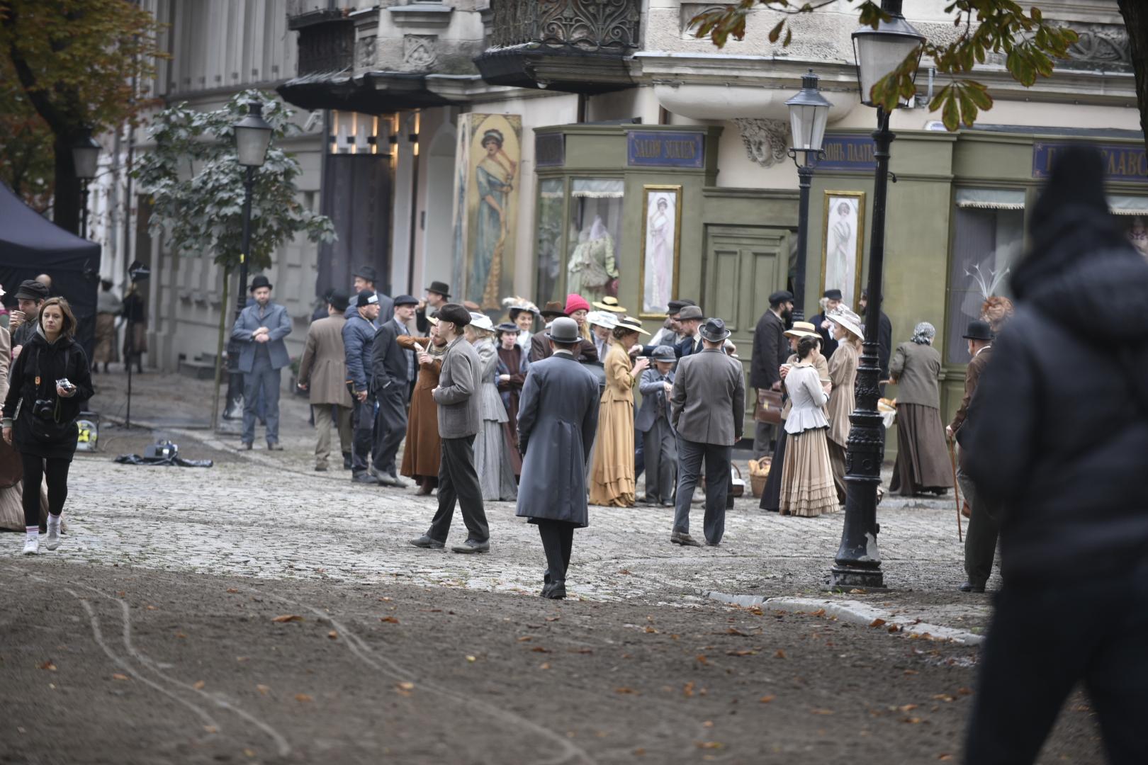 """plan filmowy """"Pogrom 1905. Miłość i hańba"""" - Wojtek Wardejn"""