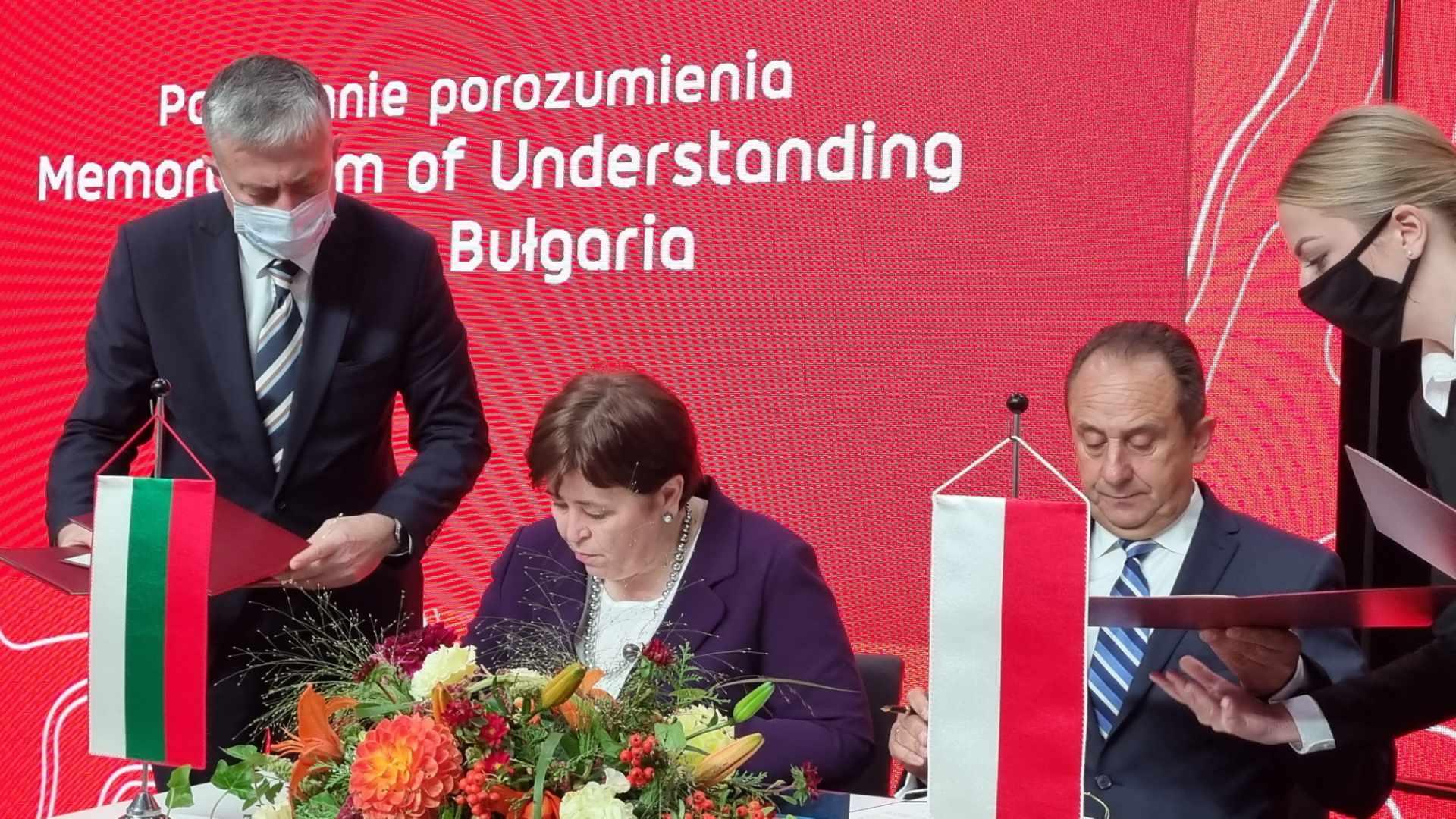 minister turystyki Bułgarii Stela Baltova porozumienie targi - Magdalena Konieczna