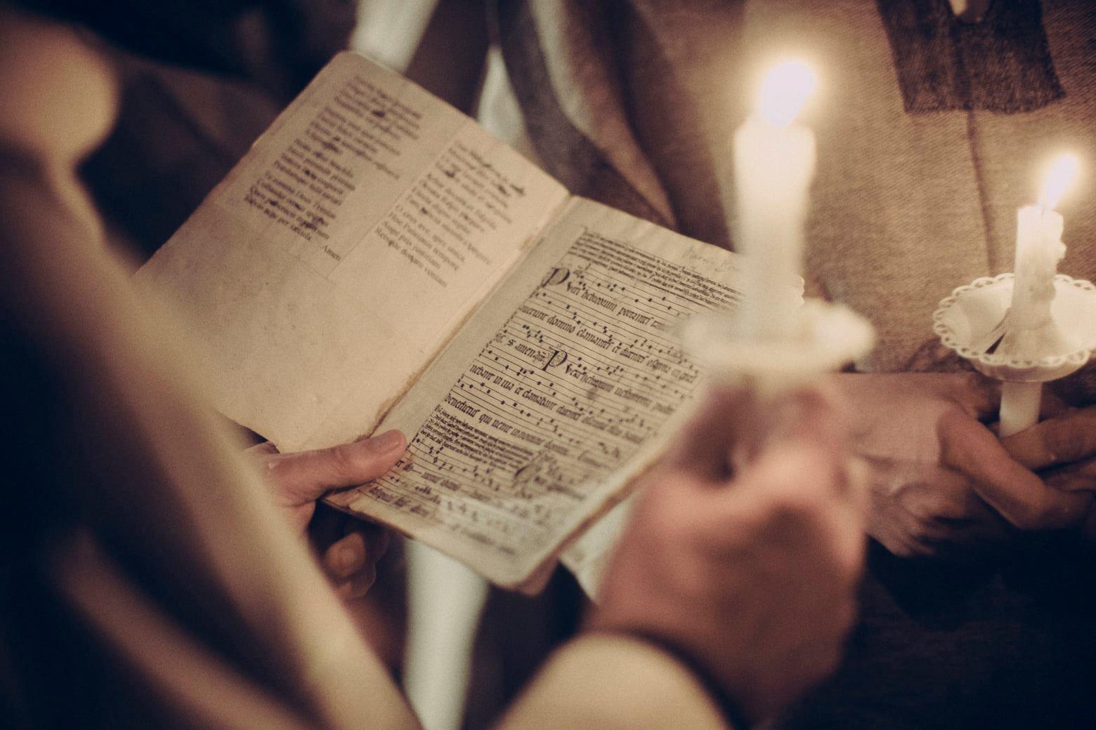 katharsis festiwal chorał gregoriański modlitwa  - Jan Billert
