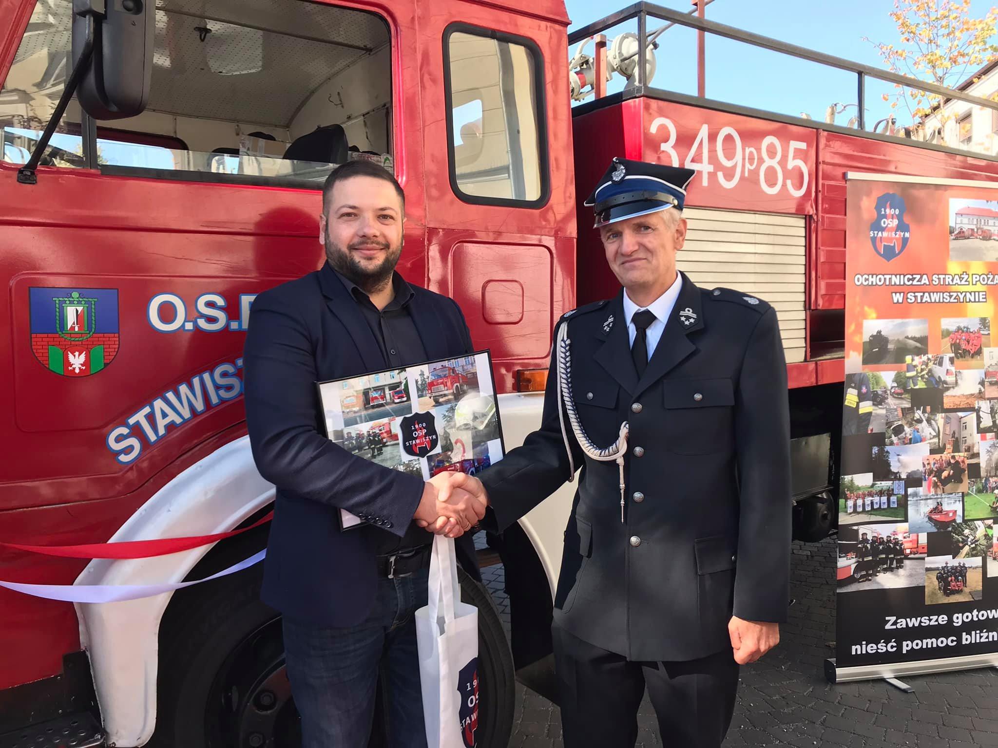 wóz strażacki stawiszyn jedzie do mołdawii - OSP Stawiszyn
