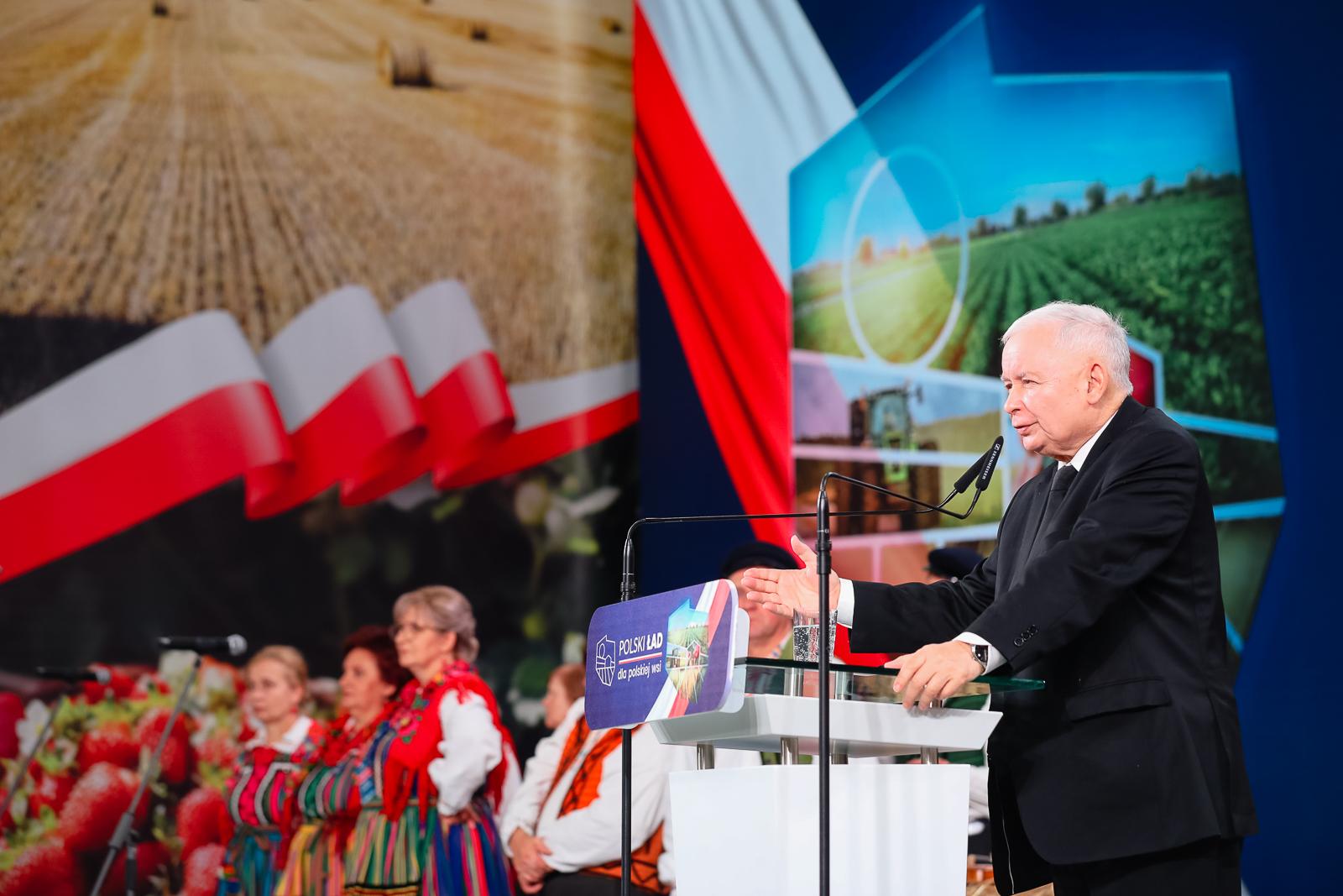 polski ład dla rolnictwa kaczyński - Prawo i Sprawiedliwość