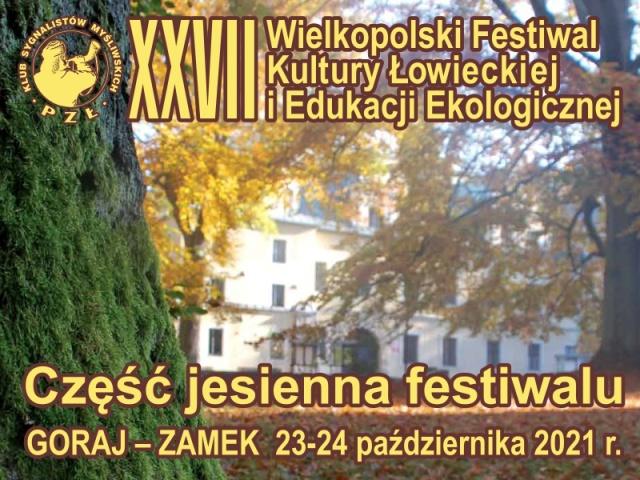 XXVII Wielkopolski Festiwal Kultury Łowieckiej 2021 - Organizator