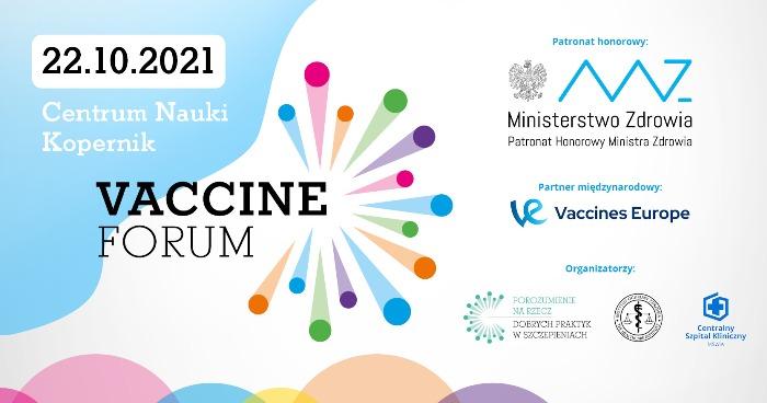 Vaccine Forum 2021 - Organizator