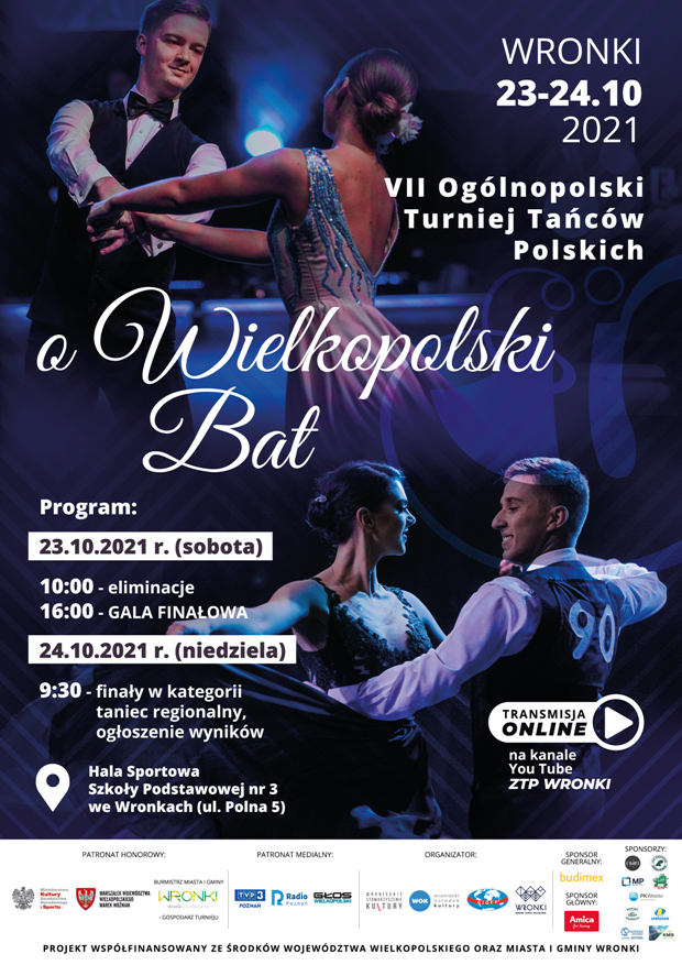 Tańce polskie we Wronkach 2021 - Organizator