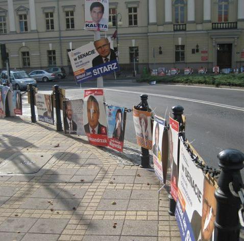 plakaty utrudnienia na drodze - Danuta Synkiewicz