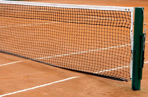 Siatka tenisowa - stock.xchng
