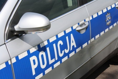 Policja - radiowóz - Policja