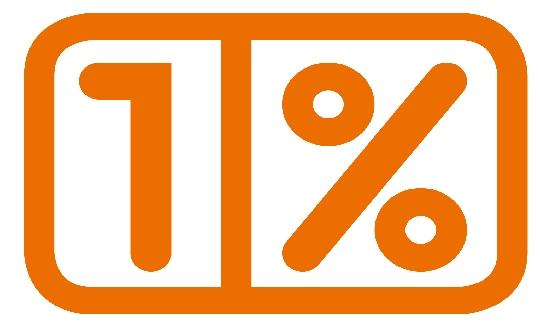 1 procent - logo
