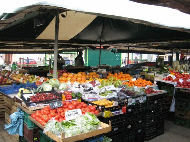 warzywa rynek - Magdalena Konieczna