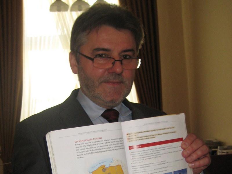 Janusz Pęcherz, prezydent Kalisza - Danuta Synkiewicz