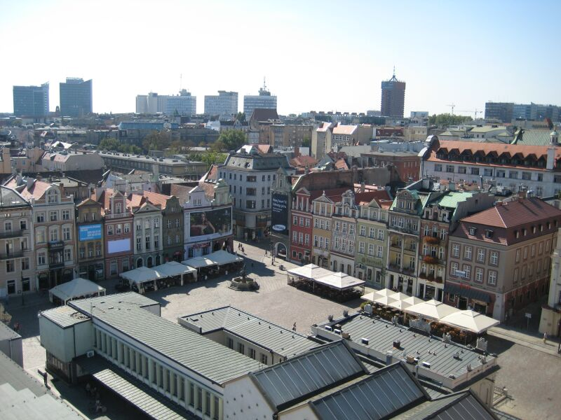 panorama poznan stary rynek2 - Jacek Butlewski