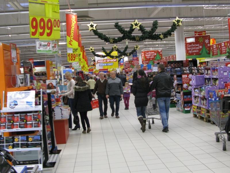 Market, sklep, promocja, wnętrze - Anna Skoczek