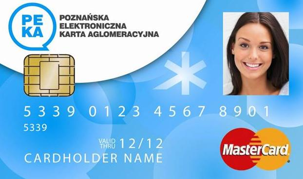 PEKA karta - ZTM Poznań