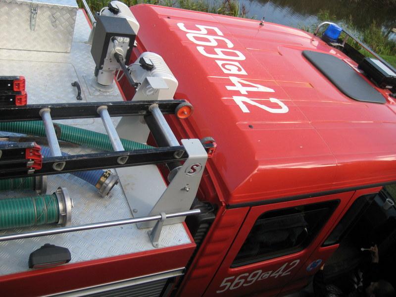 wóz strażacki - Jacek Butlewski