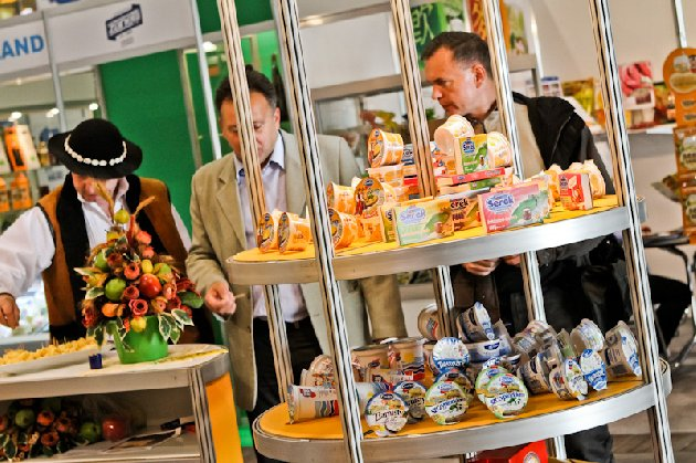 Medzinárodná dohazování akcie na Polagra potravín veľtrhu