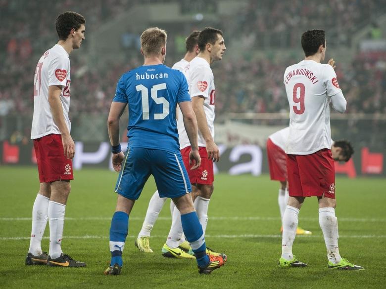 Wrocław, Polska - Słowacja (0:2), Kamiński, Lewandowski - Przemek Modliński