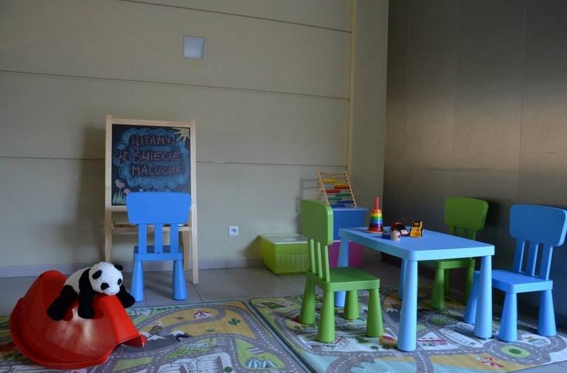 kacik zabaw dla dzieci na UAM - WNPiD UAM