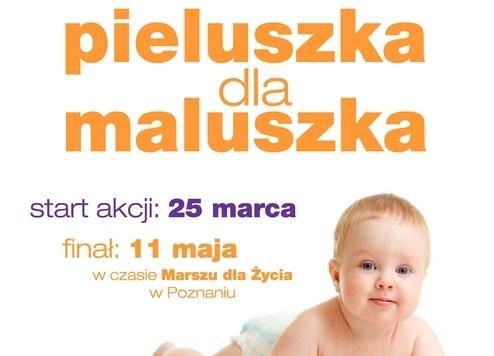 plakat_pieluszka_dla_maluszka - Pieluszka dla maluszka