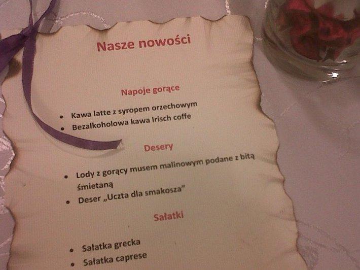 menu kawiarni filizanka - Filiżanka