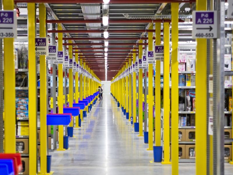 Pierwszy dzień pracy Amazon Sady - Amazon.com