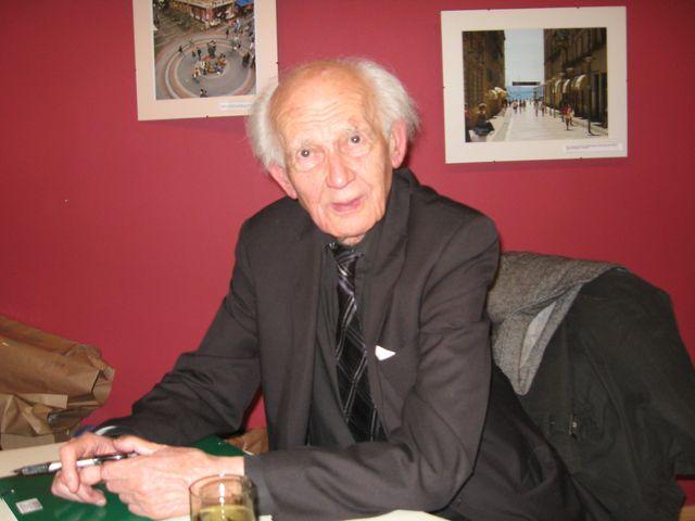 Zygmunt Bauman w Poznaniu - Szymon Mazur