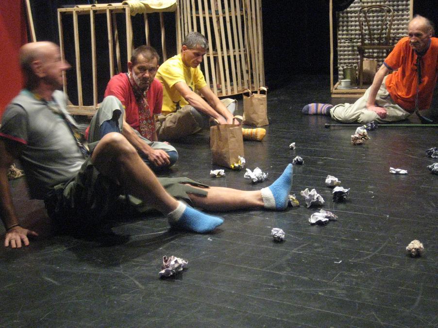 spektakl bezdomni (12) - Jacek Butlewski