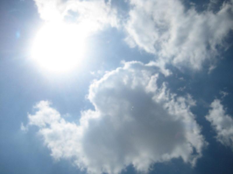 niebo słońce pogoda - Jacek Butlewski