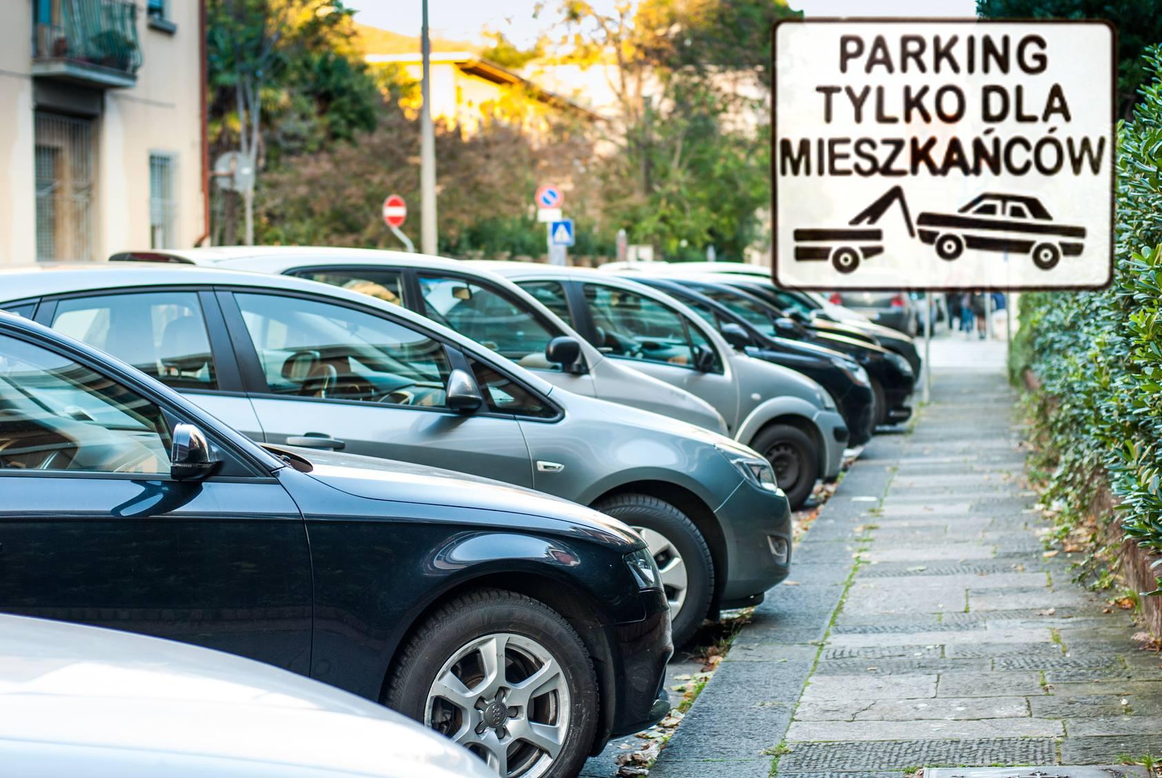 parking tylko dla mieszkańców - Radio Merkury