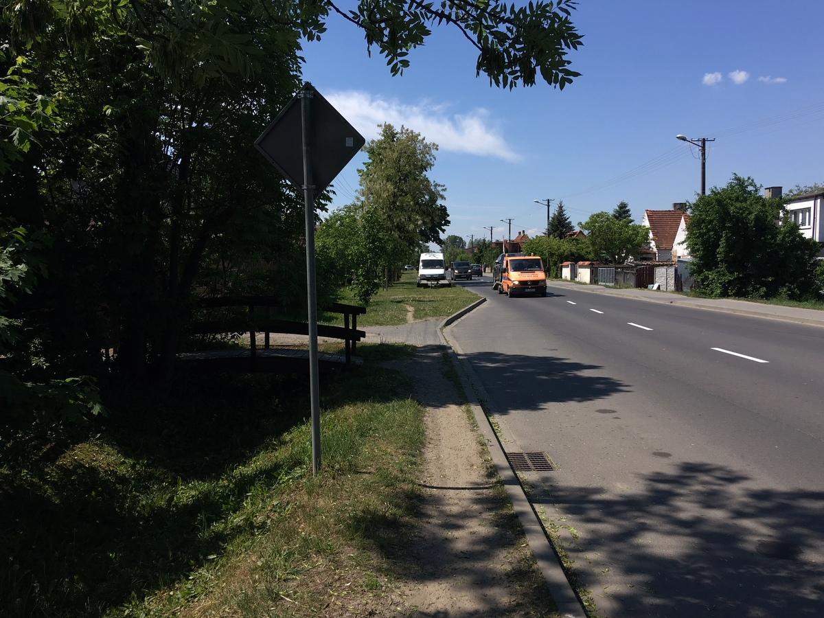 Pobiedziska ulica skąd policja zabrała mężczyznę - Rafał Muniak