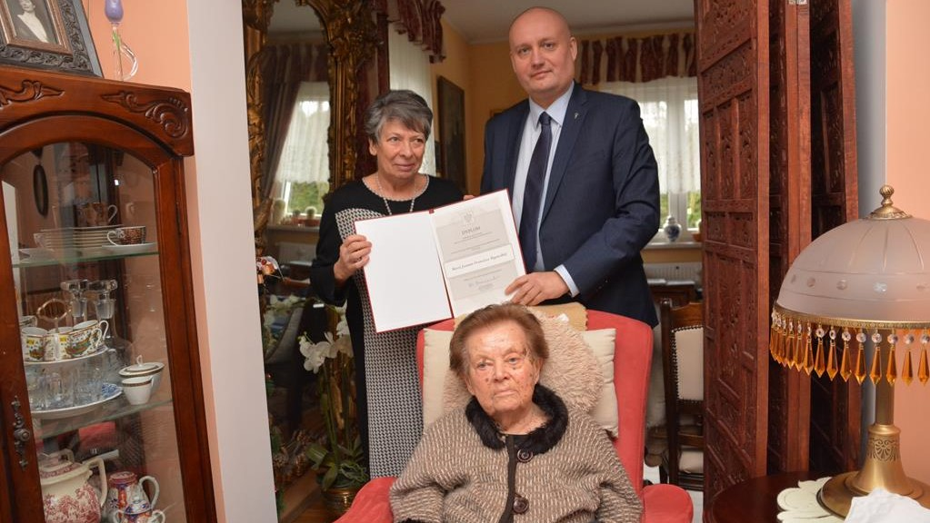 Medal dla Marii Pągowskiej  - Tomasz Stube