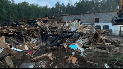 Rodzina Rygielskich potrzebuje pomocy. Spłonął im dom