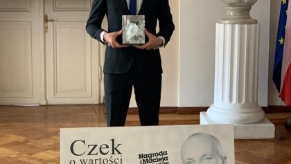 Radny, student, strażak i sportowiec laureatem Nagrody Frankiewicza