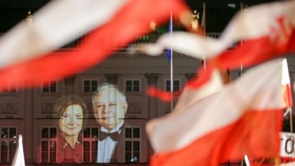 Sąd zajmie się skwerem Marii i Lecha Kaczyńskich.