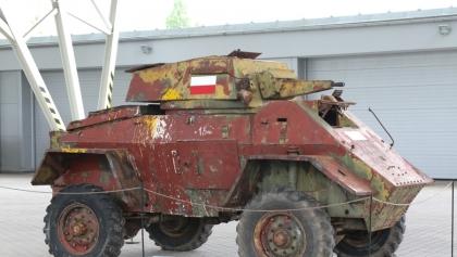 Legendarny wóz bojowy żołnierzy walczących pod Monte Cassino w Poznaniu!