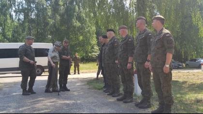 Wielkopolscy terytorialsi uczcili setne urodziny generała Podhorskiego