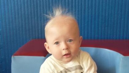 Bez wychodzenia z domu można dzisiaj pomóc niespełna dwuletniemu Wojtkowi z Sączkowa