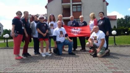 Na teren Auschwitz nie wpuszczono delegacji z flagą Powstania Wielkopolskiego