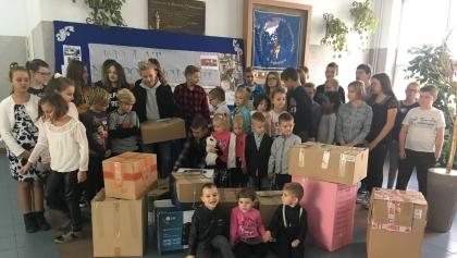 Zbieramy dary dla polskich dzieci w Dziewieniszkach