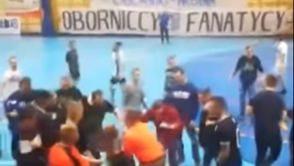 Atak chuliganów z Sosnowca na turniej charytatywny w Obornikach