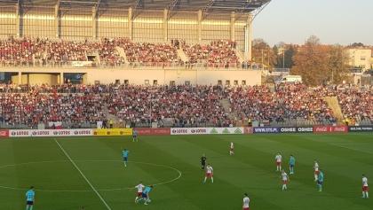 Pełne trybuny nie pomogły - Polska przegrywa z Holandią 1:2